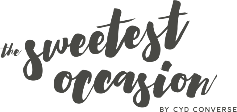 The Sweetest Occasion logo