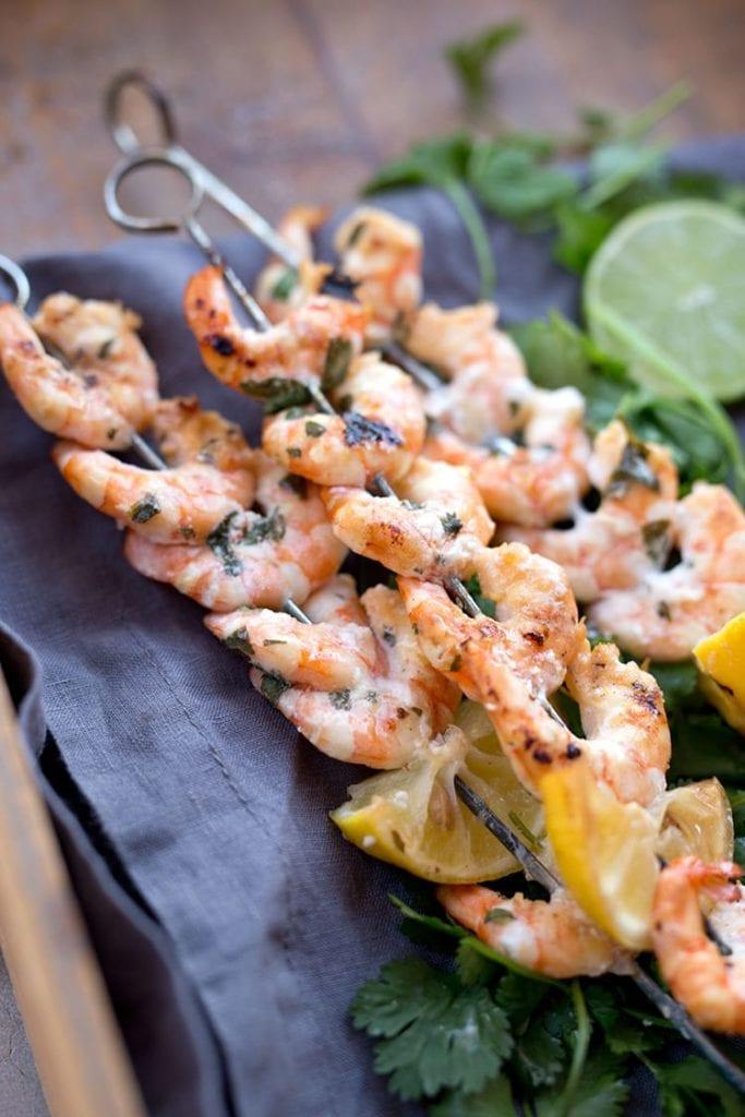 Summer Appetizers: Easy Citrus Grilled Shrimp Skewers