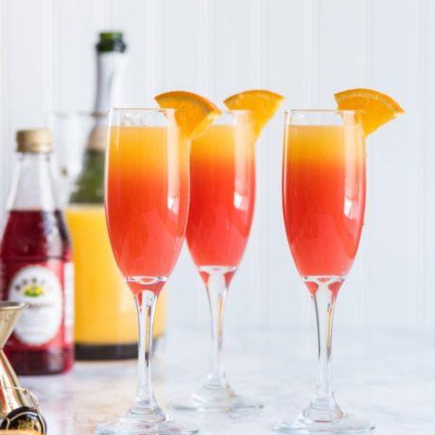 Tequila Sunrise Mimosa Recipe