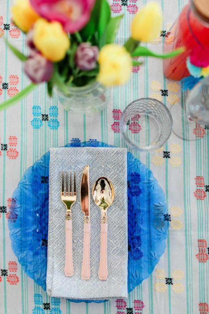 Colorful and Easy Brunch Ideas from Entertaining Blog @cydconverse