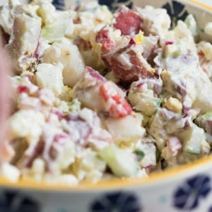 Our Family's Favorite Red Potato Salad Recipe thumbnail