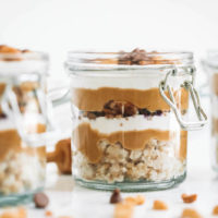 Peanut Butter Breakfast Parfaits