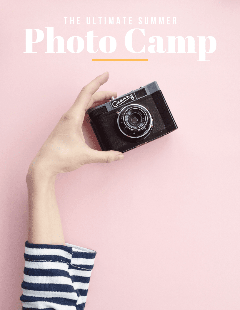 Photography Summer Camp | Summer Camp Ideas for Kids