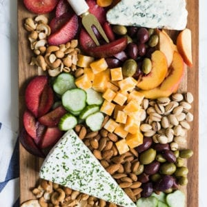 How to Make a Seasonal Summer Harvest Cheese Board thumbnail