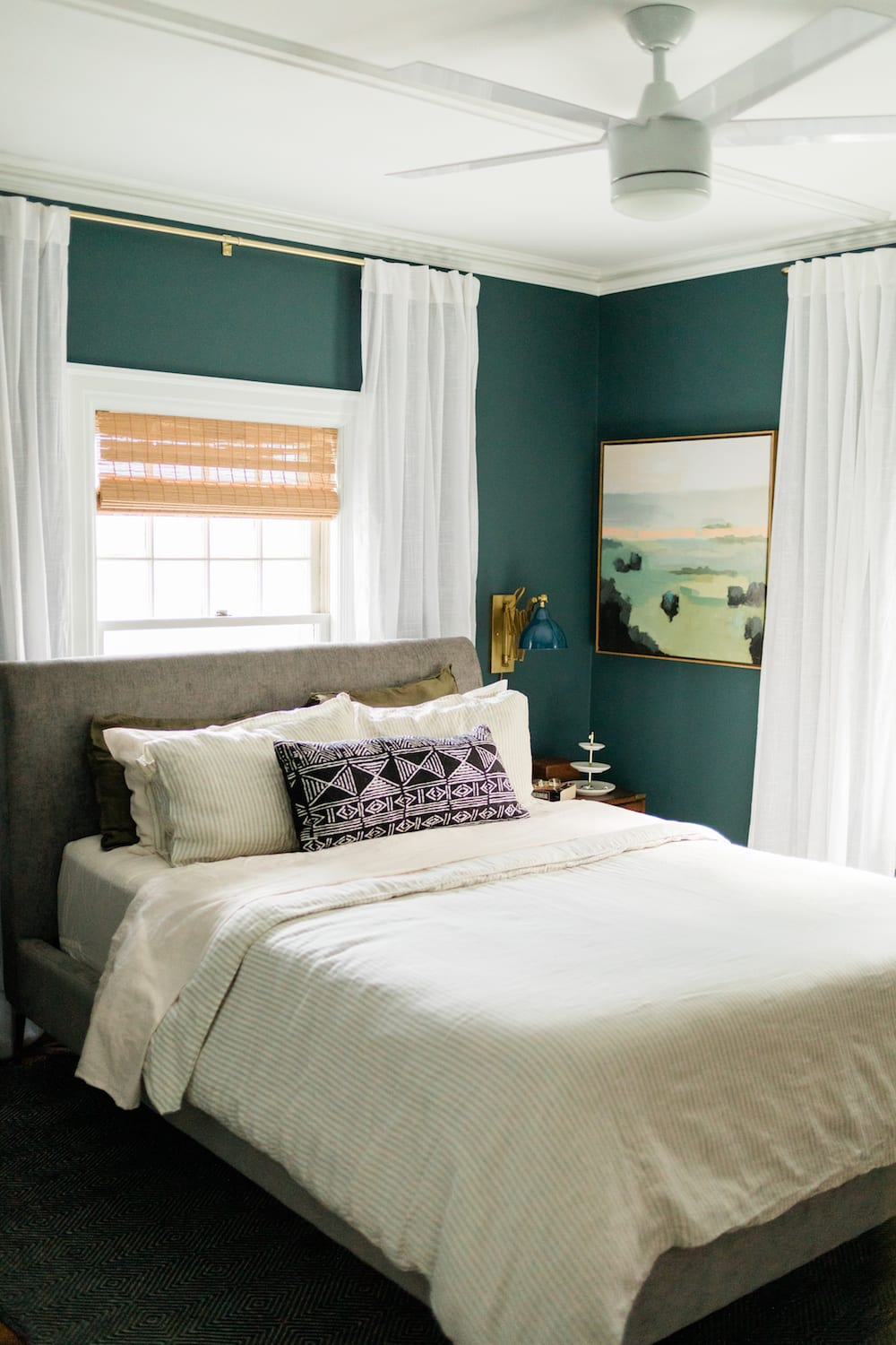 Small Master Bedroom Ideas - EasyCare Ultra Premium Paint Review - EasyCare Gothic Gray