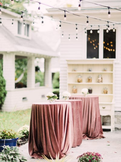 Our Romantic Fall Backyard Wedding thumbnail