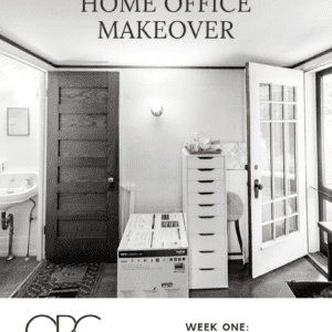 One Room Challenge: Making Over Our Home Office + Powder Room thumbnail