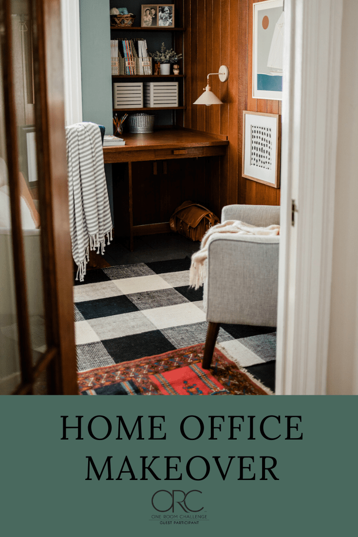Home Office Makeover | One Room Challenge