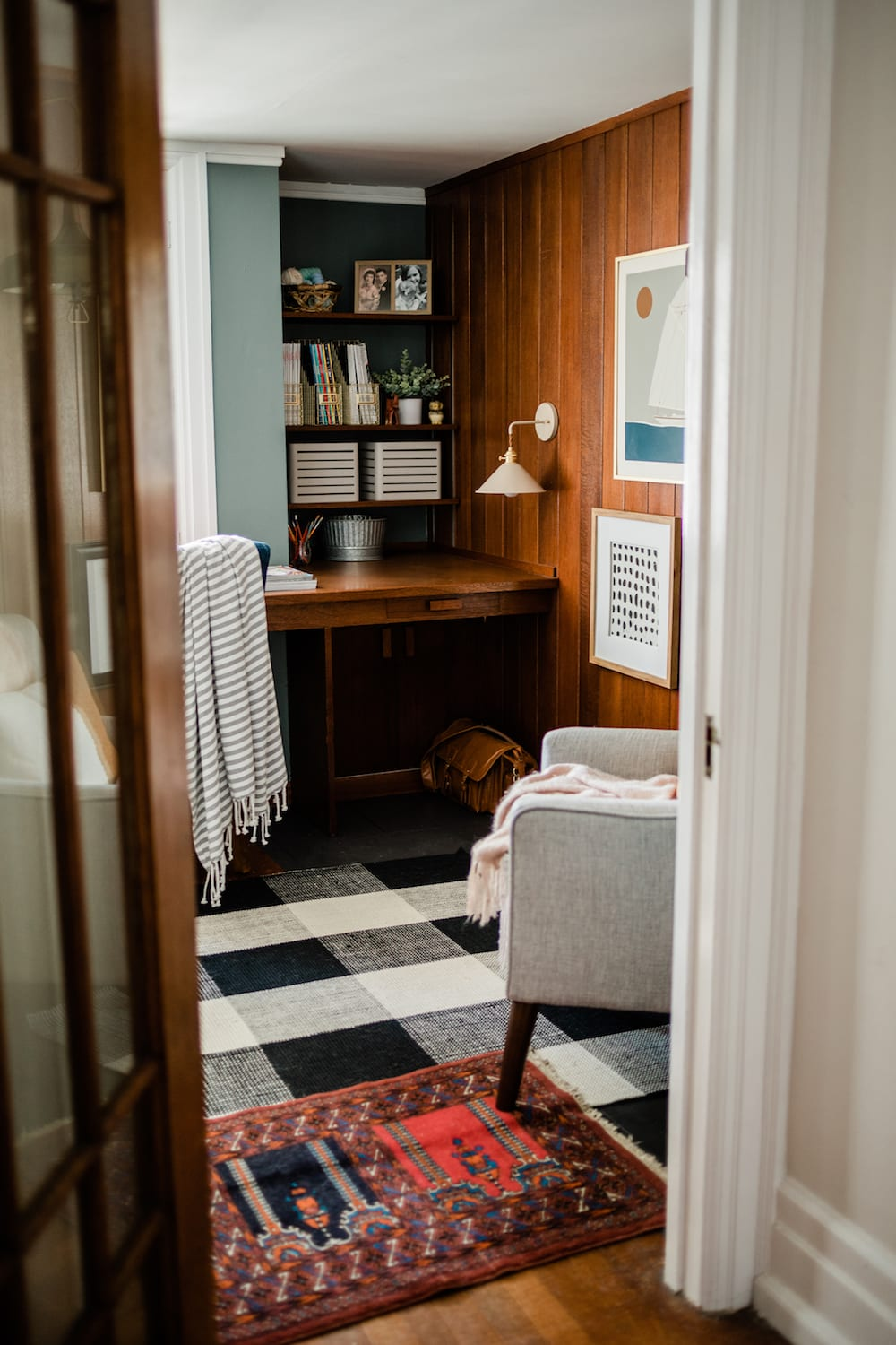 Our Den + Powder Room Reveal