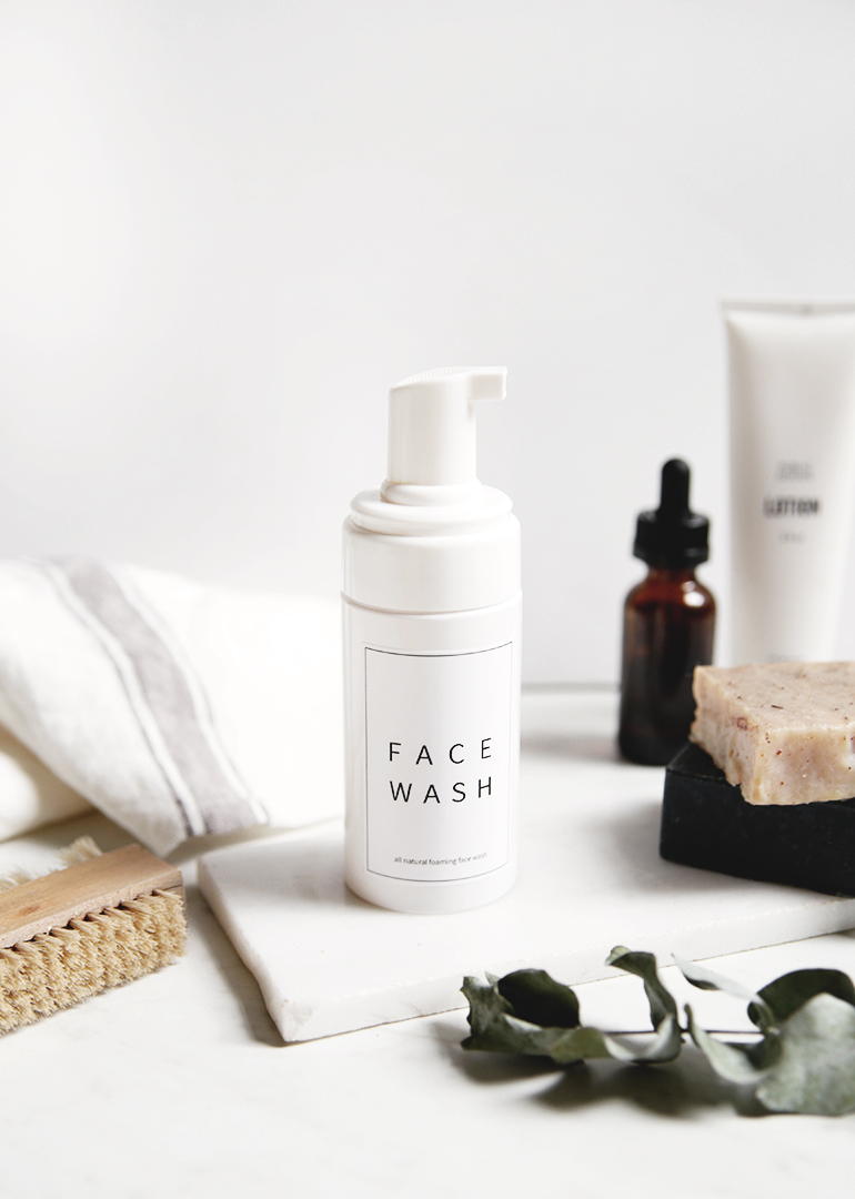 DIY Gifts for Mom: Homemade Face Wash