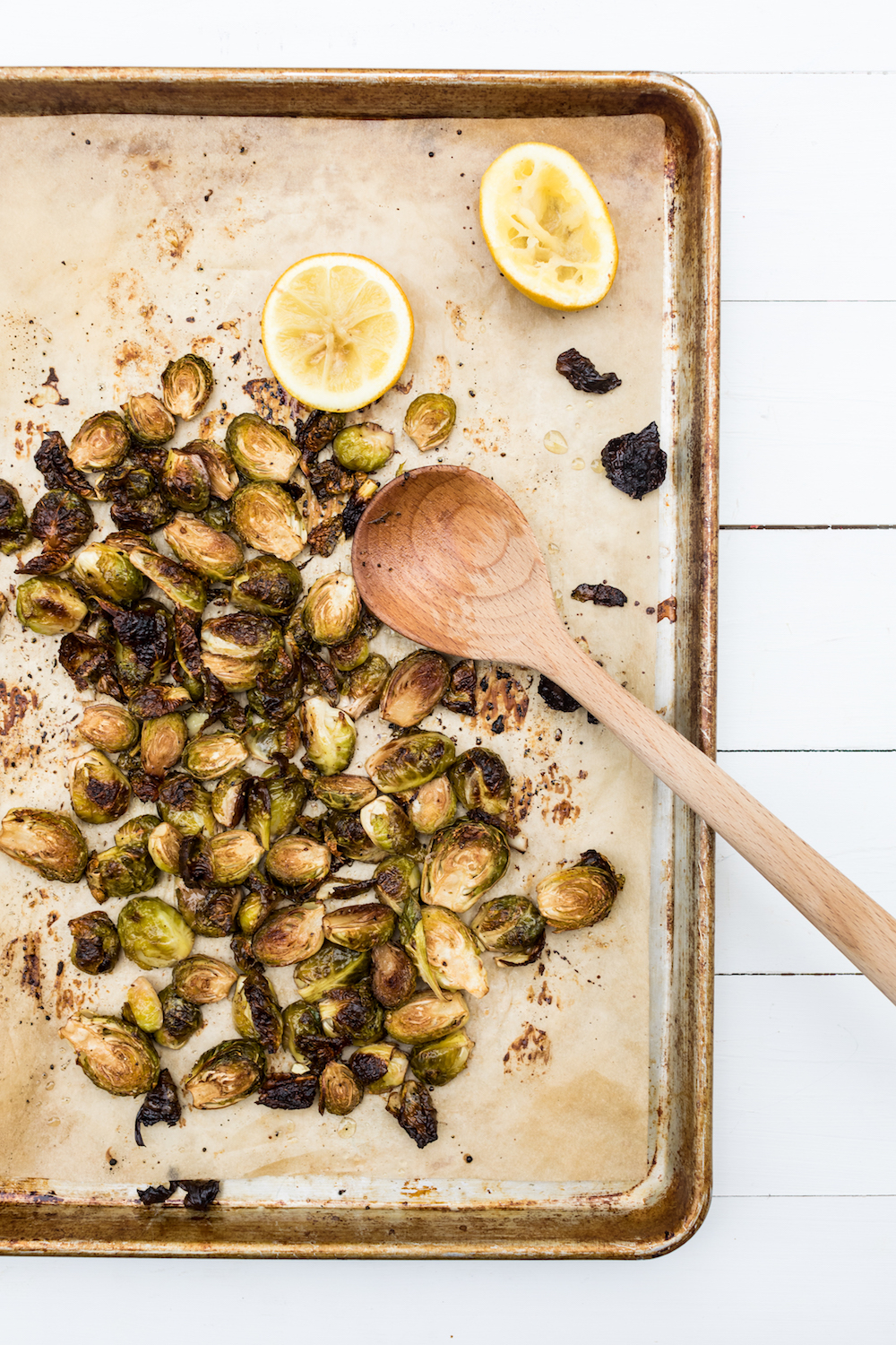 Easy Oven Roasted Brussels Sprouts