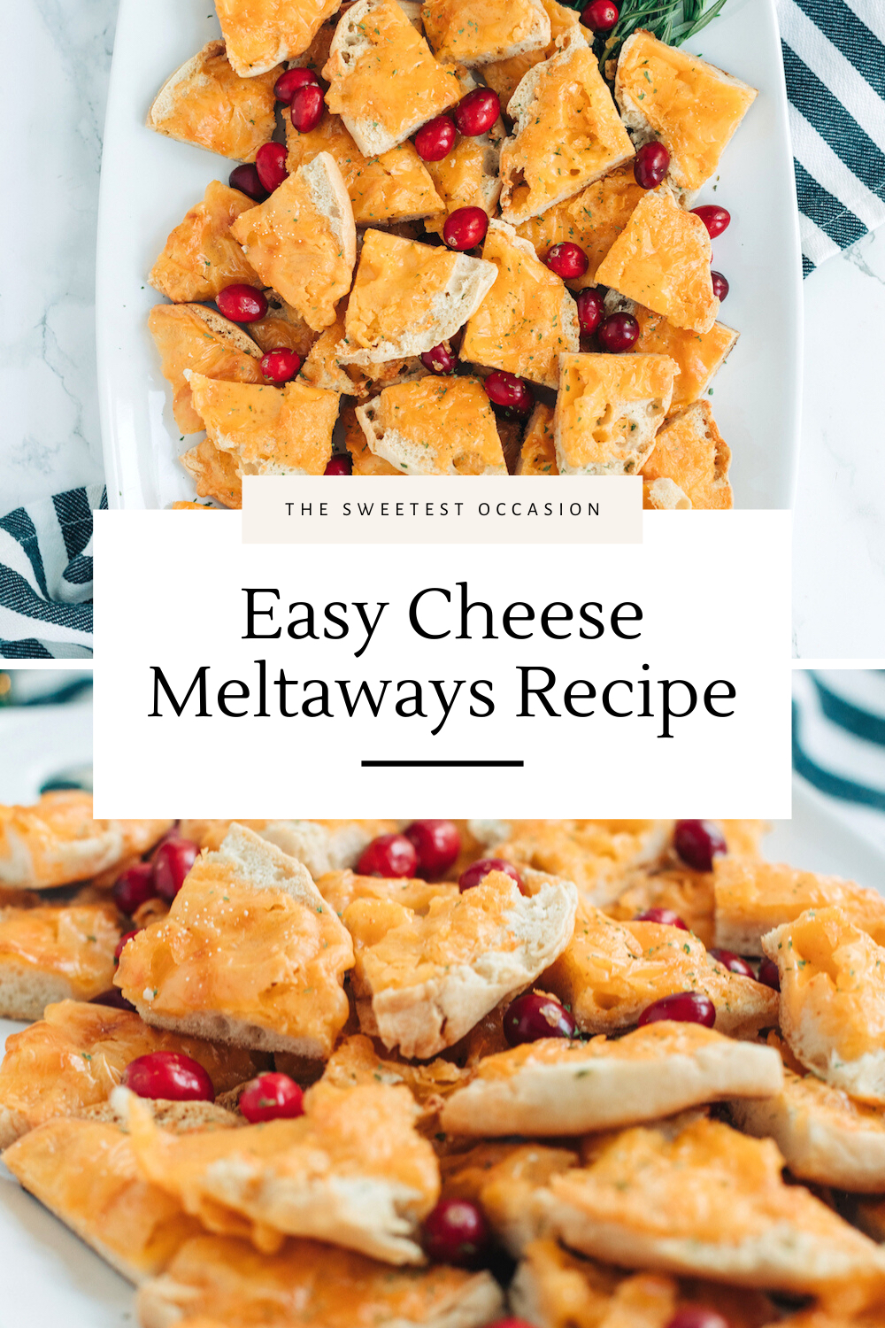 Cheese Meltaways Recipe