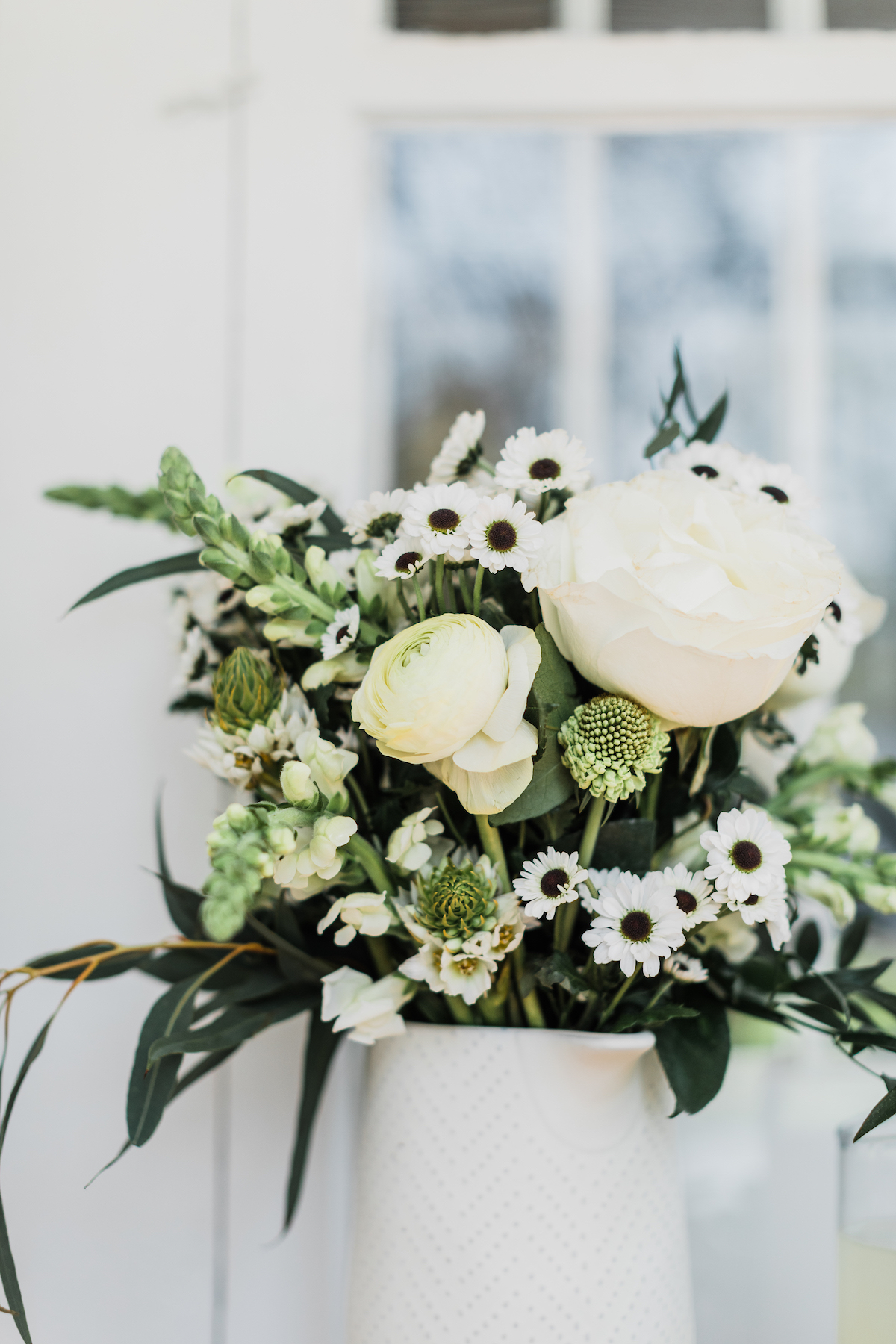 Bouquet of White Flowers